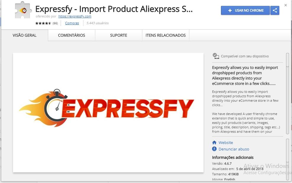 Fazer drop shipping no AliExpress passo 1