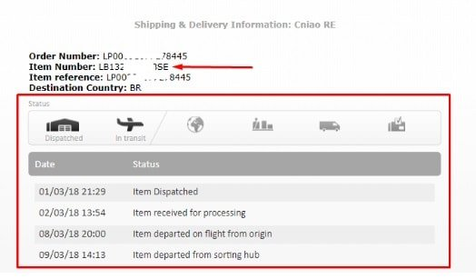 código padrão correios Brasil