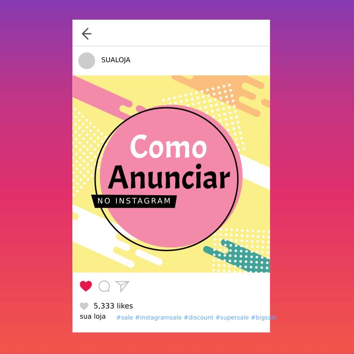anunciar no instagram