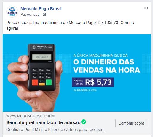 anuncio facebook exemplo