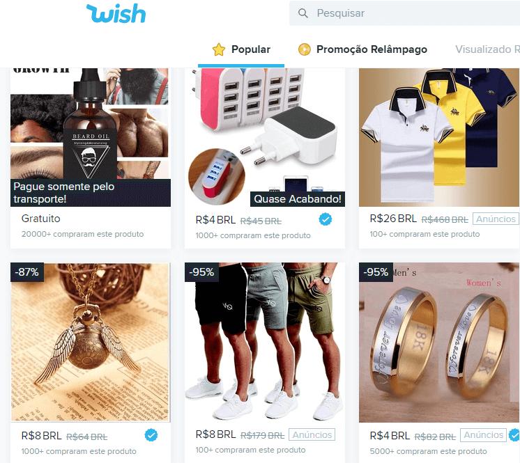 comprar no wish