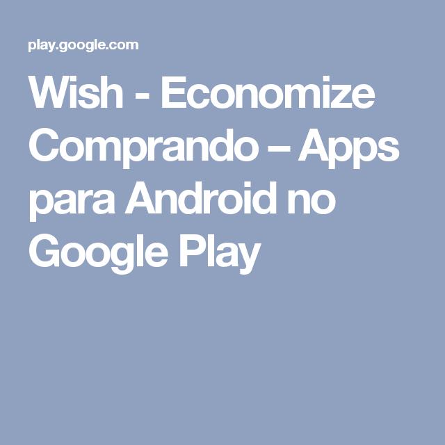 aplicativo wish